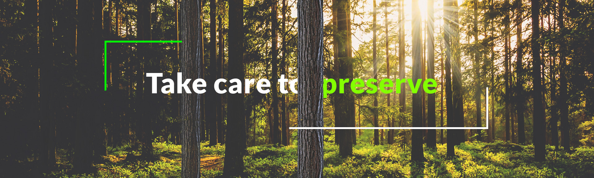 Take care to preserve