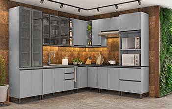Modulated kitchens