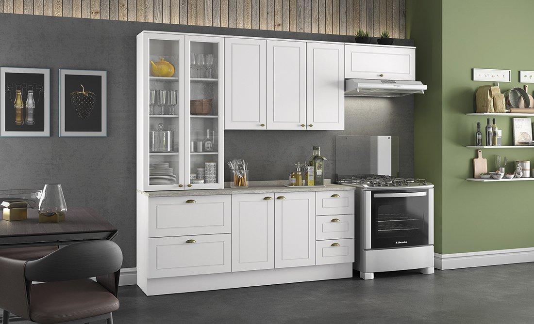 fa084999b Cozinhas moduladas - Linha Americana - Americana4 - Móveis Henn