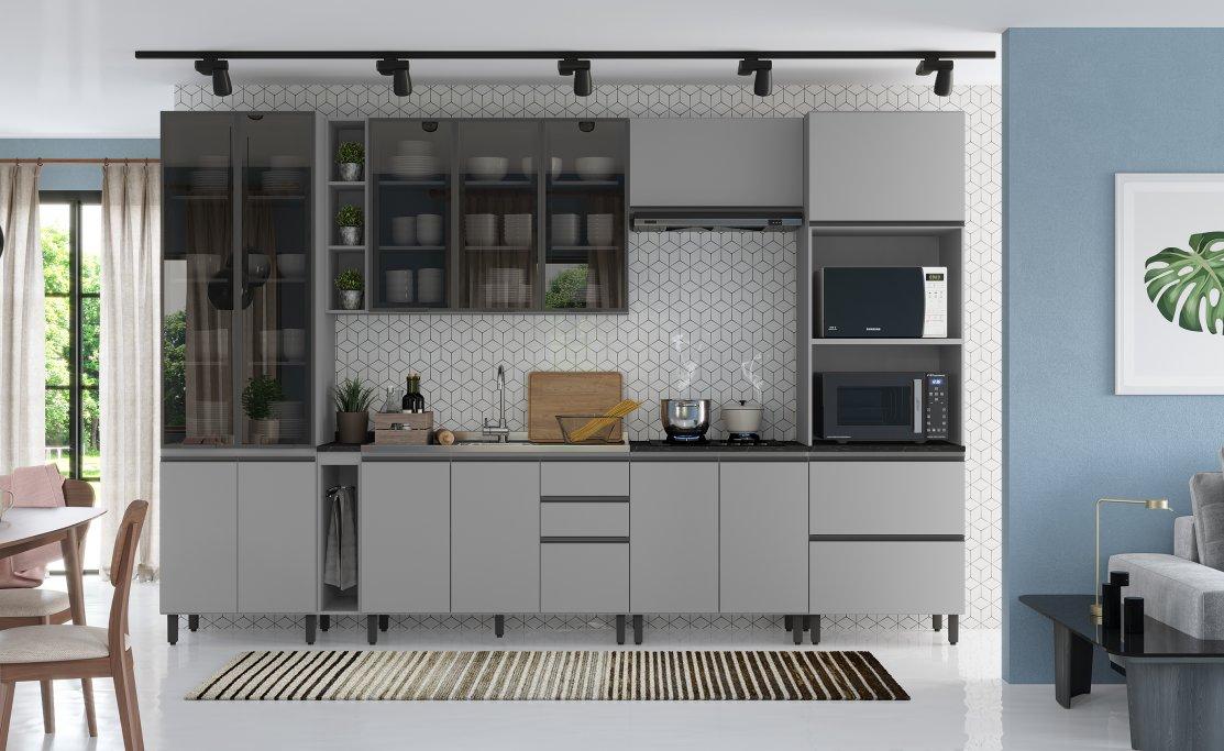 opções da Henn para sua cozinha modulada