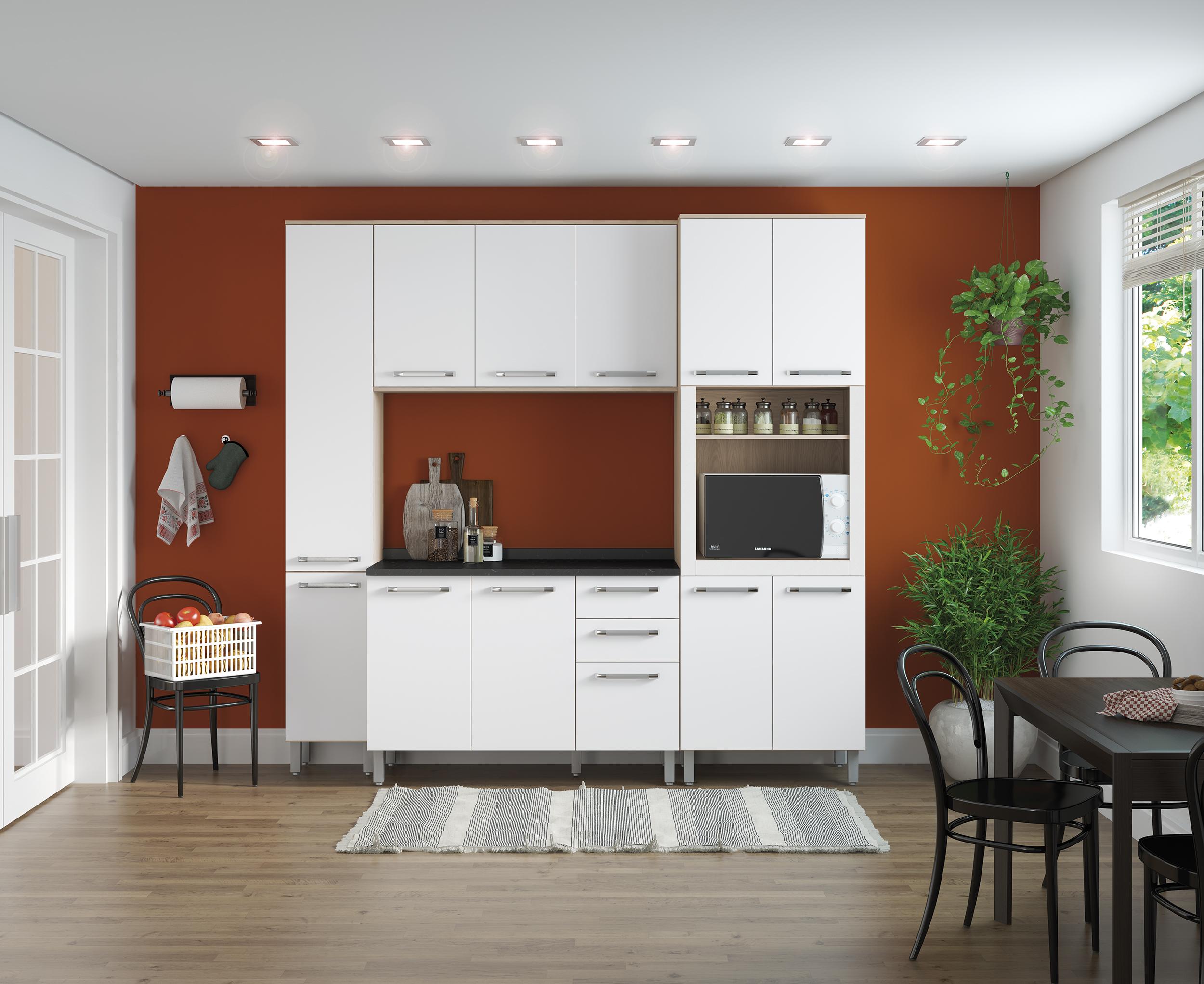 4 Vantagens Para Escolher Uma Cozinha Modulada Branca