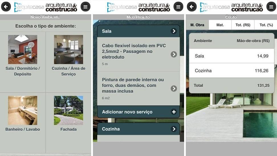 App Arquitecasa