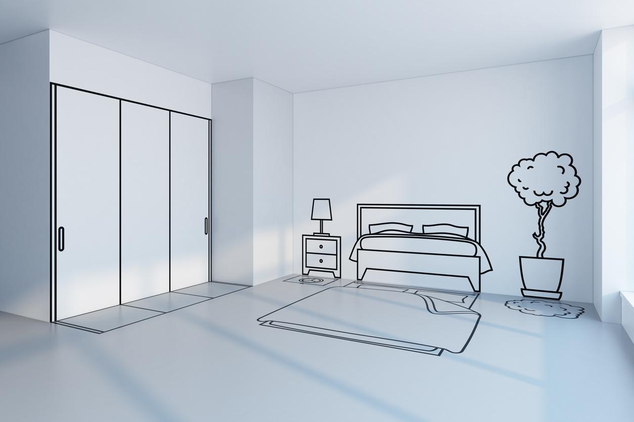 Tire as medidas do seu quarto, antes de escolher o seu novo guarda-roupa