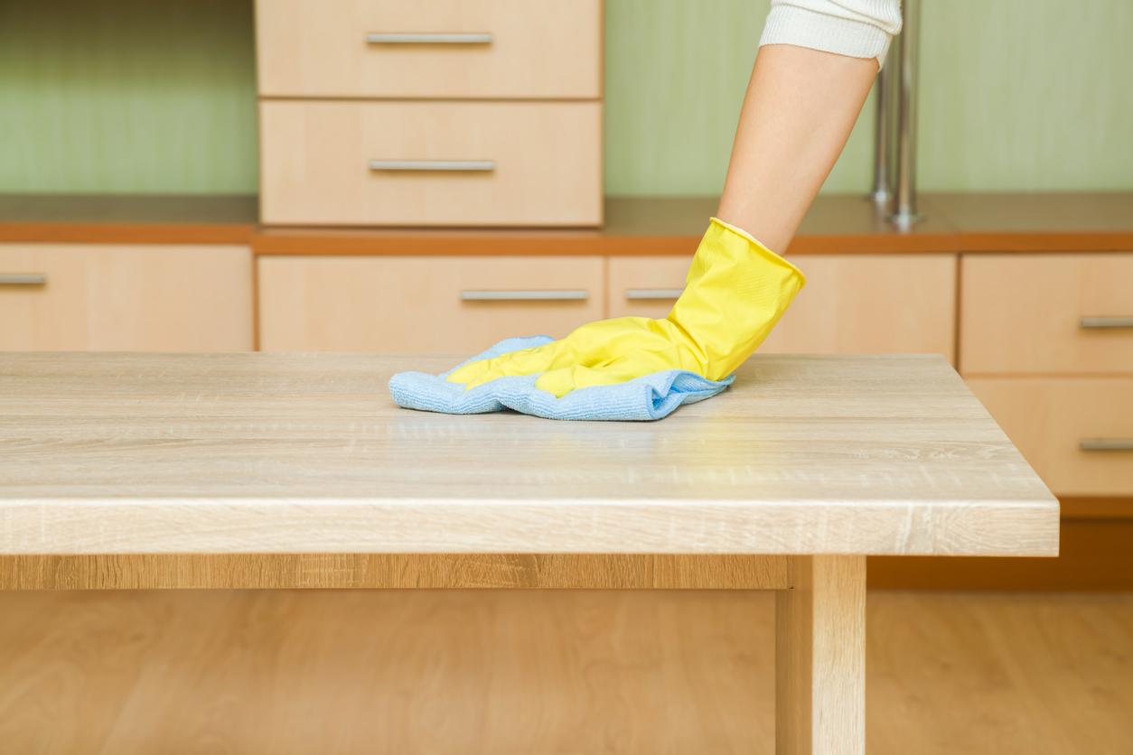Objetos de apoio para uma limpeza eficiente