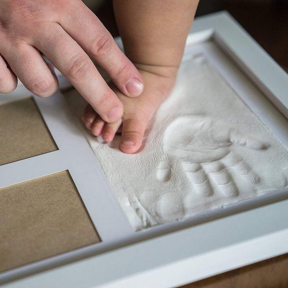 Molde para mão e pé de bebê