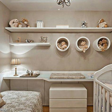 nichos para quarto do bebê