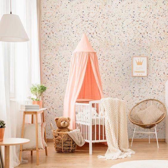tecidos diferentes para o quarto do bebê